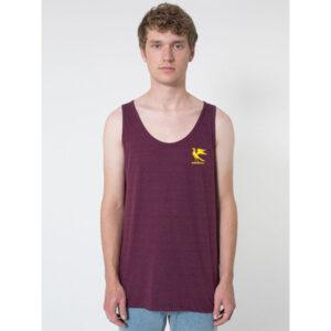 Burgundy Hawks' Vest